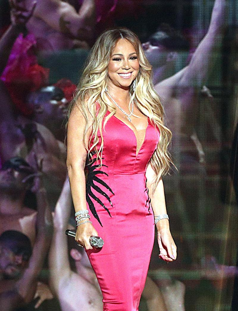 Diva: Mariah Carey needs to watch out (Getty Images)