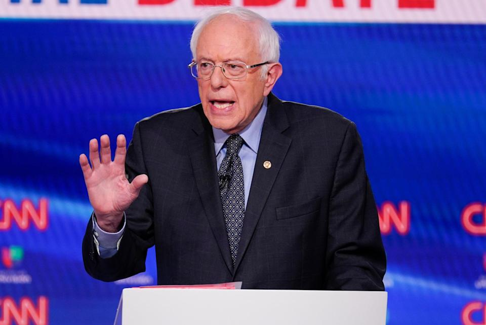 Sanders Our Revolution (Copyright 2020 The Associated Press. All rights reserved.)
