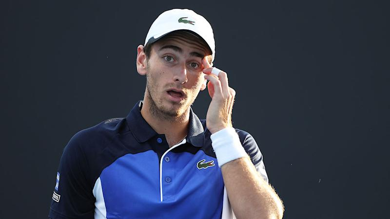 France's Elliot Benchetrit lost his first round match at the Australian Open.