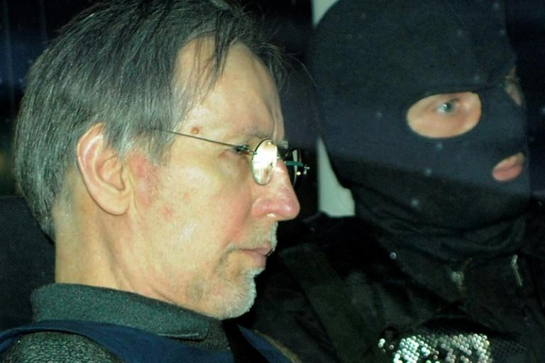 Dead: French serial killer Michel Fourniret (L) seen here arriving at court
