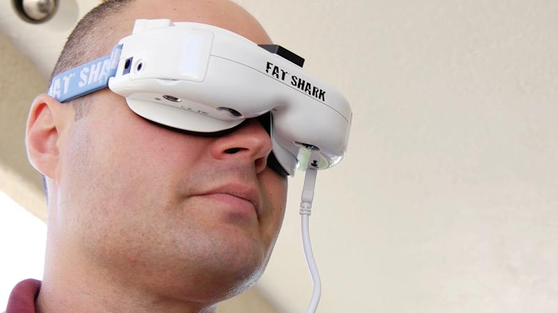 Fat Shark's newest FPV goggles make flying a drone feel more like piloting a fighter jet