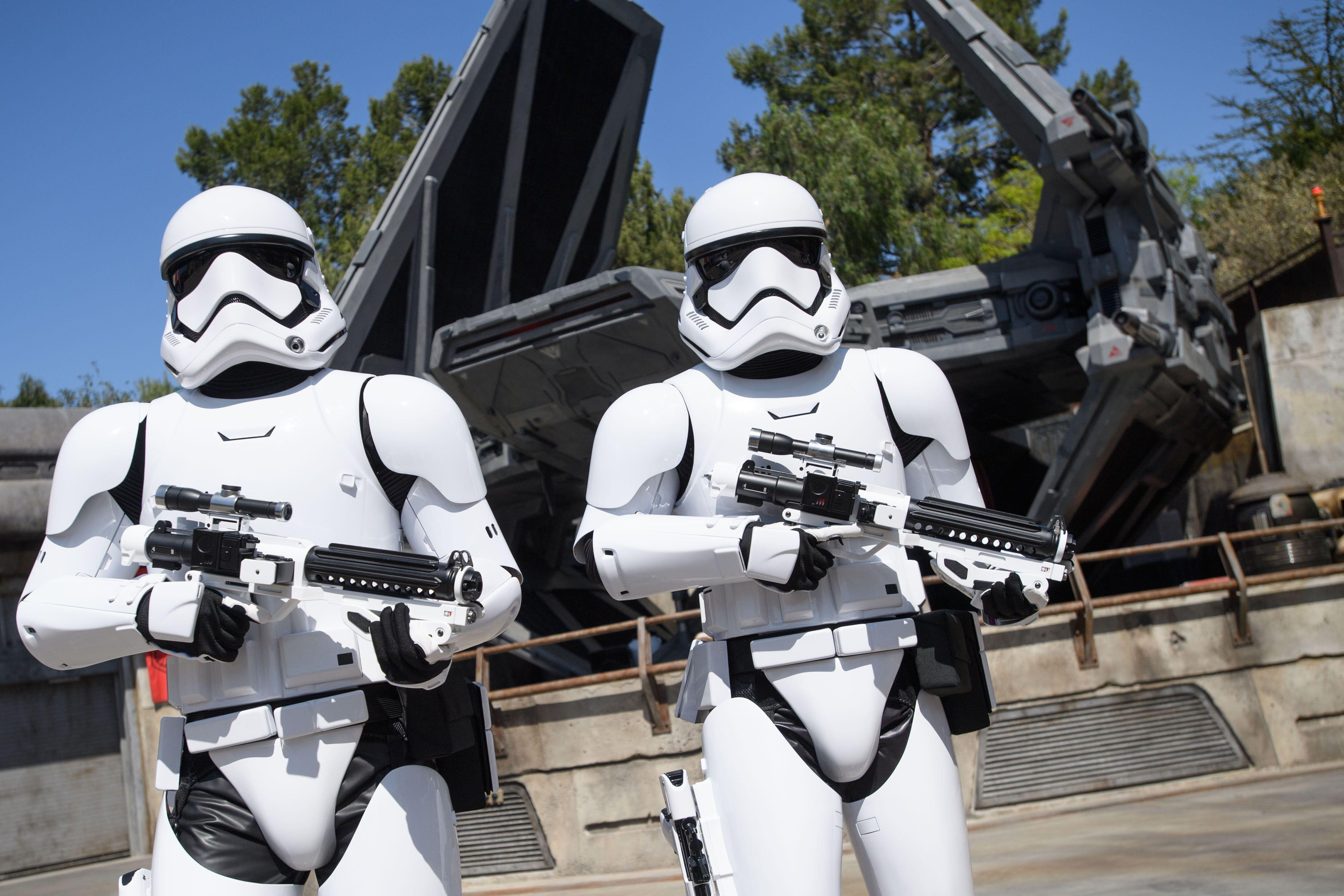 Stormtroopers patrol Galaxy's Edge, and will demand to see your credentials. (Richard Harbaugh/Disney Parks)