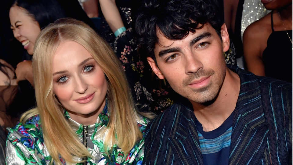 Sophie Turner's bold look drew mixed reactions online after the star was spotted leaving lunch with husband Joe Jonas. (Image via Getty Images)