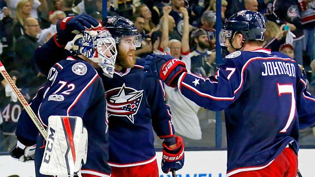 In Tuesday's do-or-die clash, the Columbus Blue Jackets held on to beat the Pittsburgh Penguins 5-4 to force a fifth game in the playoffs.