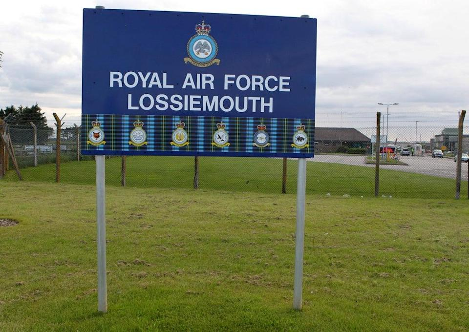 BAE Systems will deliver training facilities at RAF Lossiemouth (Andrew Milligan/PA) (PA Archive)