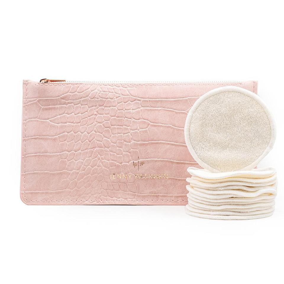 "<p>Many products are used once, then tossed, and will still be intact in the landfill for decades (or more). Instead, look for products you'll get more wear out of, such as these machine-washable pads.</p> <p><b>Buy It!</b> Jenny Patinkin Pure Luxury Organic Bamboo Cosmetic Rounds, $38; <a href=""https://credobeauty.com/products/pure-luxury-organic-bamboo-reusable-cosmetic-rounds"" rel=""nofollow noopener"" target=""_blank"" data-ylk=""slk:credobeauty.com"" class=""link rapid-noclick-resp"">credobeauty.com</a></p>"