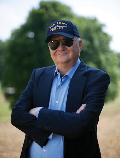 Author Tom Clancy, best-selling writer and entrepreneurial space supporter.