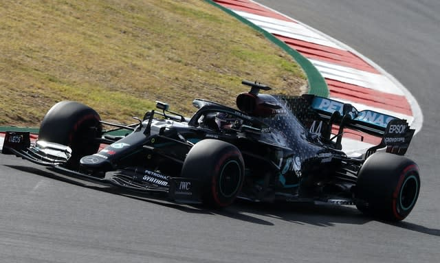 Lewis Hamilton left it late to secure another pole position
