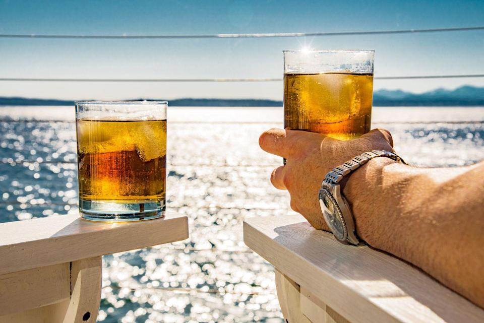 """<p>Who doesn't love a good rum punch by the calming waters of the Caribbean sea? According to <a href=""""https://www.visitjamaica.com/"""" rel=""""nofollow noopener"""" target=""""_blank"""" data-ylk=""""slk:Visit Jamaica"""" class=""""link rapid-noclick-resp"""">Visit Jamaica</a>, Jamaica was the first island in the Caribbean to produce rum on a commercial basis.</p>"""