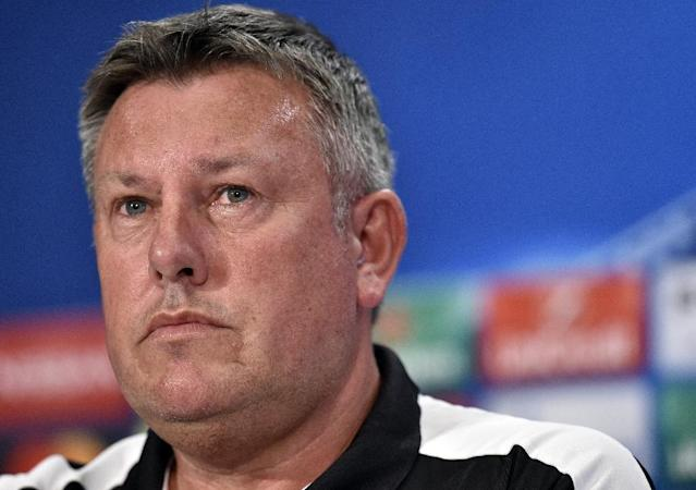 """""""In terms of recovery we've had this fixture planned for a while. We know what it's about,"""" said Leicester City manager Craig Shakespeare (AFP Photo/GERARD JULIEN)"""