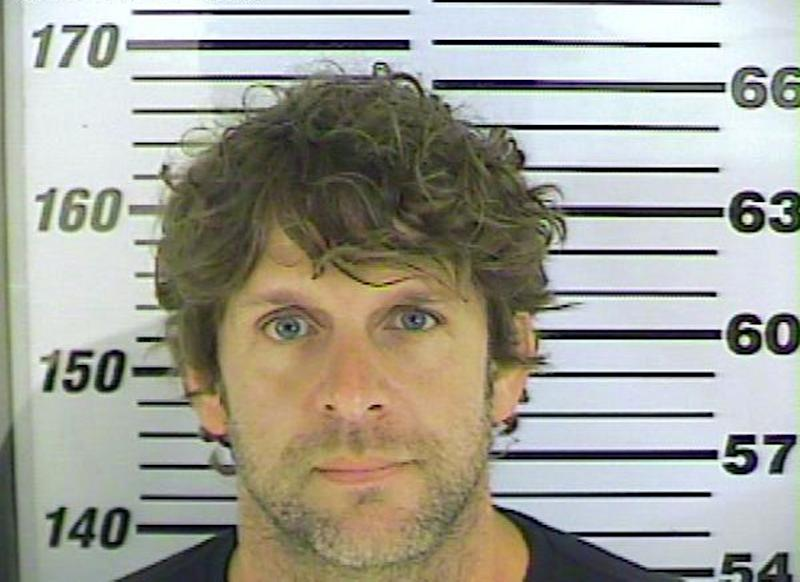 """In this undated photo released by the Chatham County (Ga.) Sheriff's office, Billy Currington poses for a photo. Currington, 39, may have videotaped himself chasing a 70-year-old tour boat captain along a coastal Georgia creek and threatening to """"finish him off"""" in a tirade filled with profanities, according to court documents filed Thursday, April 25, 2013, in Georgia. Currington turned himself in Thursday afternoon at the county jail, where he was booked on charges of making terroristic threats and abuse of an elderly person. (AP Photo/Chatham County (Ga.) Sheriff's Office)"""