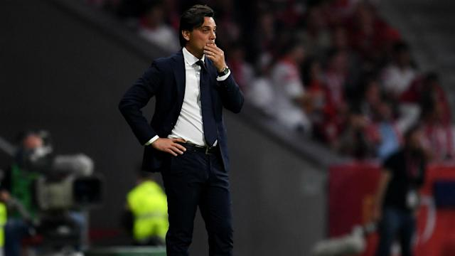 Vincenzo Montella is under pressure after Sevilla lost 5-0 in the Copa del Rey final, with the club's hierarchy set to discuss his future.