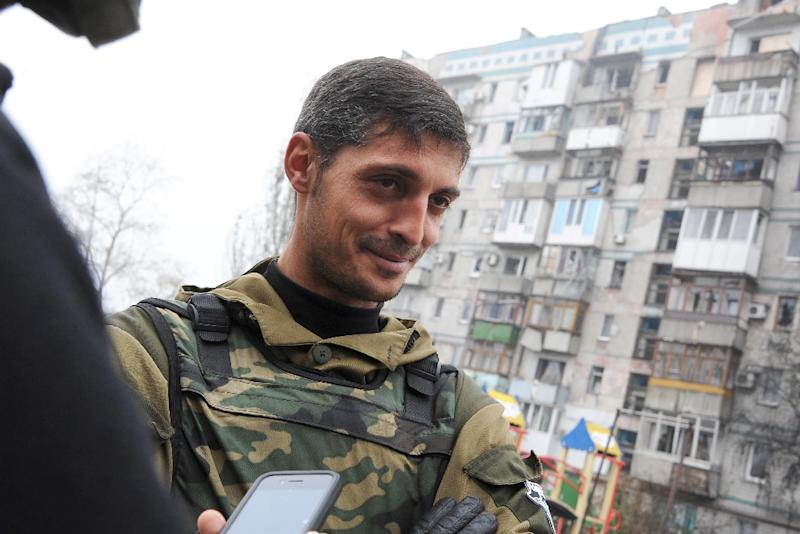 Mikhail Tolstyk was a leading commander of the self-declared Donetsk People's Republic