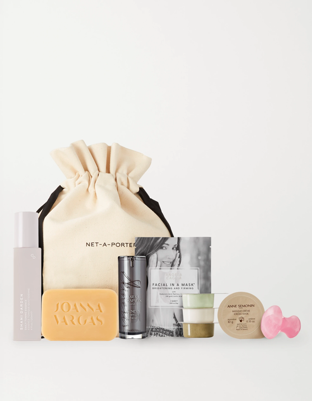 "No aesthetician needed. $80, Net-A-Porter. <a href=""https://www.net-a-porter.com/en-us/shop/product/net-a-porter/the-at-home-facialist-kit/1275079"" rel=""nofollow noopener"" target=""_blank"" data-ylk=""slk:Get it now!"" class=""link rapid-noclick-resp"">Get it now!</a>"