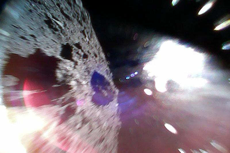 Japan's Hayabusa 2 mission lands on target asteroid