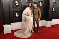 <p>The couple attended the Grammy awards together at the start of 2020.</p>