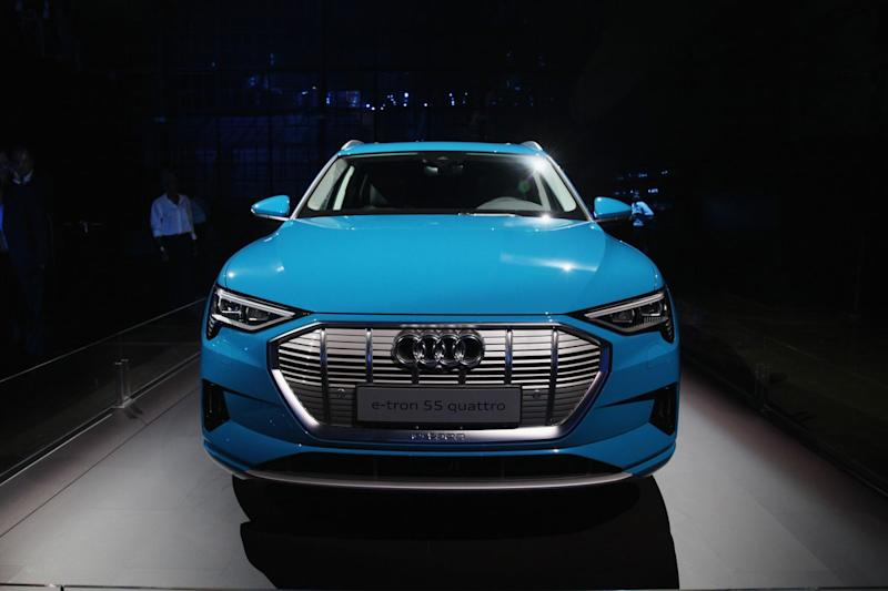 Audi Takes Aim At Tesla With New Electric Car