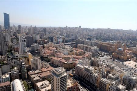 A general view of Beirut central district