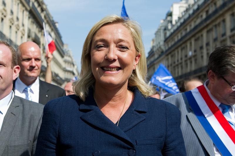 Marine Le Pen could face up to three years in prison for tweets from 2015. | Source: Shutterstock