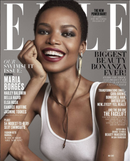 Meet The First African Woman Of The Century To Cover 'Elle'