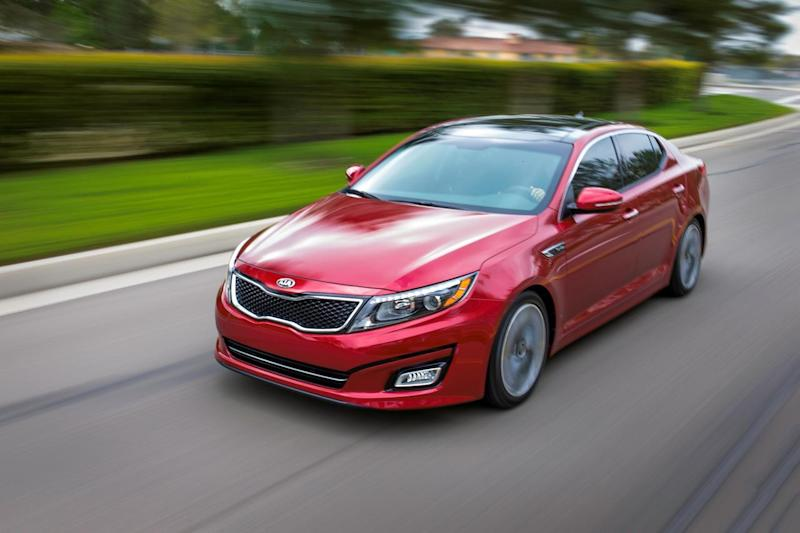 2015 kia optima real world review. Black Bedroom Furniture Sets. Home Design Ideas