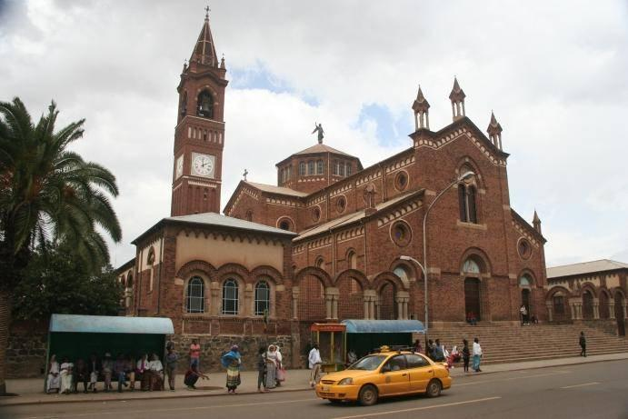 The Church of Our Lady of the Rosary in Asmara (Nick Redmayne)