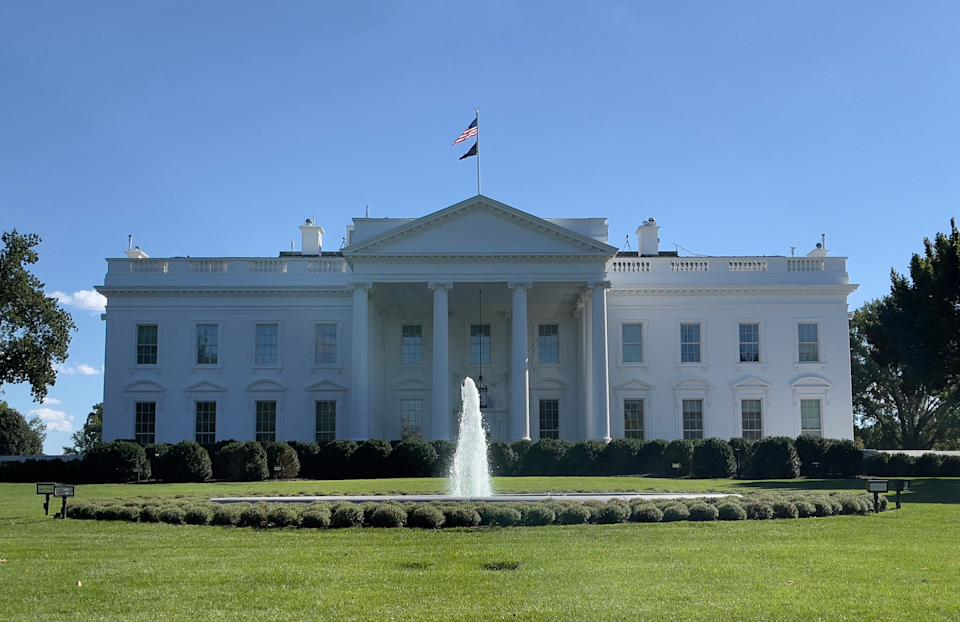 The White House is pictured on September 26, 2021 in Washington, DC. (Photo by Daniel SLIM / AFP) (Photo by DANIEL SLIM/AFP via Getty Images)