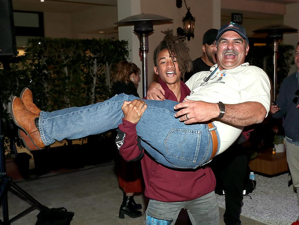 <p>Will Smith's 18-year-old environmentally conscious son had serious fun at the Environmental Media Association's EMA IMPACT Summit in Beverly Hills. Can't you tell? (Photo: Rich Polk/Getty Images for Environmental Media Association) </p>