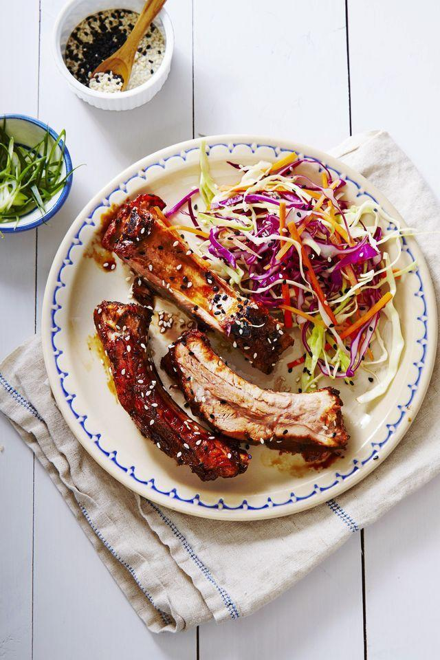"""<p>Warning: once you start making your own light and flavorful Teriyaki sauce, there's no going back to the store-bought kind.</p><p><em><a href=""""https://www.goodhousekeeping.com/food-recipes/easy/a34565/slow-cooked-teriyaki-ribs/"""" rel=""""nofollow noopener"""" target=""""_blank"""" data-ylk=""""slk:Get the recipe for Slow-Cooker Teriyaki Ribs »"""" class=""""link rapid-noclick-resp"""">Get the recipe for Slow-Cooker Teriyaki Ribs »</a></em></p>"""
