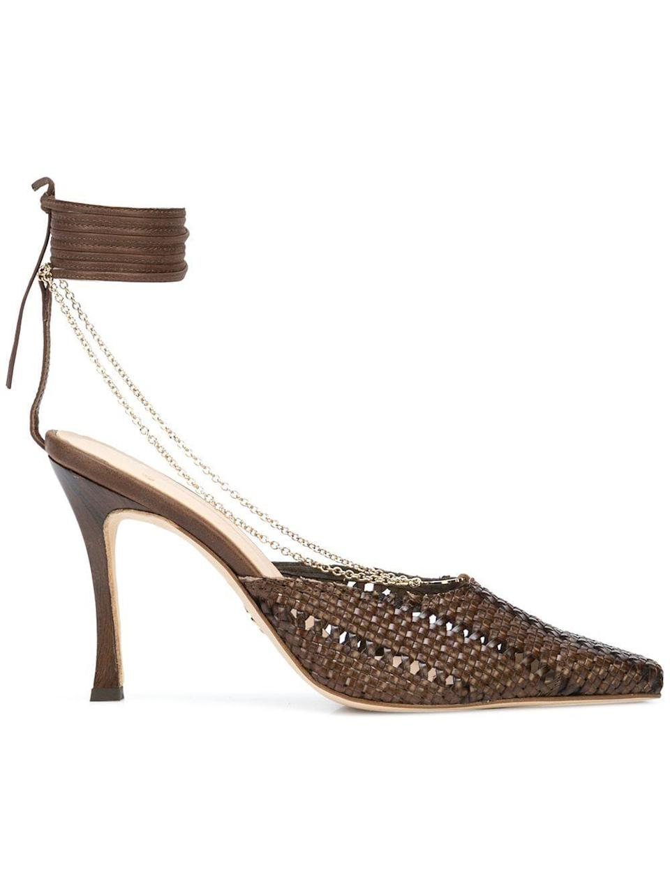 """<p><strong>Brother Vellies</strong></p><p>farfetch.com</p><p><strong>$795.00</strong></p><p><a href=""""https://go.redirectingat.com?id=74968X1596630&url=https%3A%2F%2Fwww.farfetch.com%2Fshopping%2Fwomen%2Fbrother-vellies-olivia-100mm-pumps-item-15337088.aspx&sref=https%3A%2F%2Fwww.cosmopolitan.com%2Fstyle-beauty%2Ffashion%2Fg35685829%2Fluxury-designer-sale-hauliday%2F"""" rel=""""nofollow noopener"""" target=""""_blank"""" data-ylk=""""slk:Shop Now"""" class=""""link rapid-noclick-resp"""">Shop Now</a></p>"""