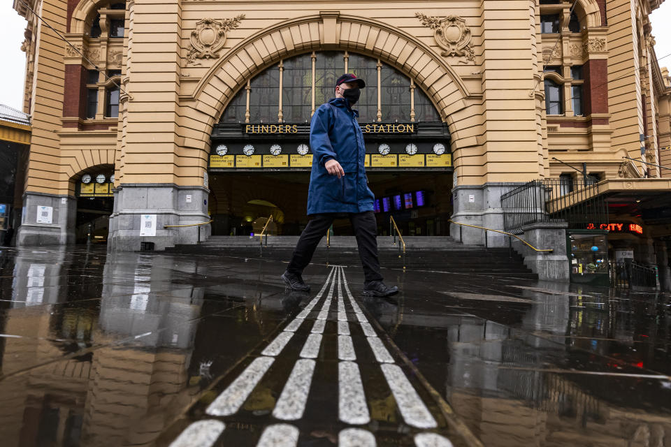 Melbourne has been in lockdown for more days than any other city in the world. Source: AAP