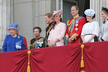 The Royal Family in June 2013