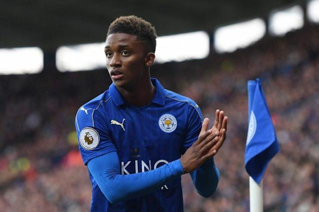 Demarai Gray caused the Stoke defence issues in their match against Leicester