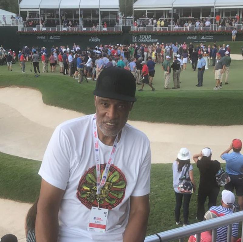 Tiger Woods holds back tears before claiming Tour Championship