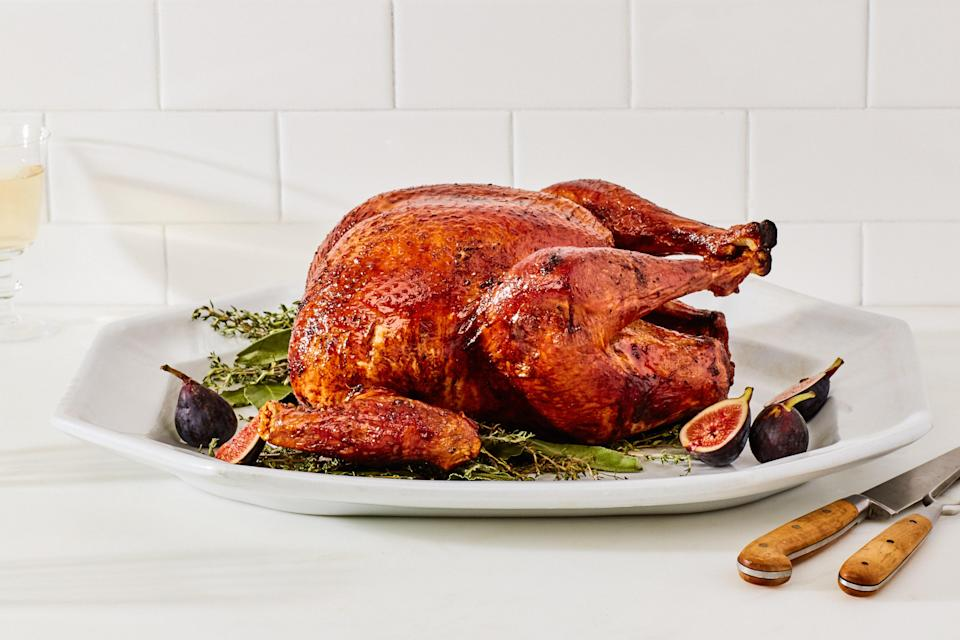 """But if you're of the opinion that leftovers are the <em>point</em> of Canadian Thanksgiving, this set-it-and-forget-it Thanksgiving recipe will have you covered. <a href=""""https://www.epicurious.com/recipes/food/views/the-simplest-roast-turkey-232985?mbid=synd_yahoo_rss"""" rel=""""nofollow noopener"""" target=""""_blank"""" data-ylk=""""slk:See recipe."""" class=""""link rapid-noclick-resp"""">See recipe.</a>"""
