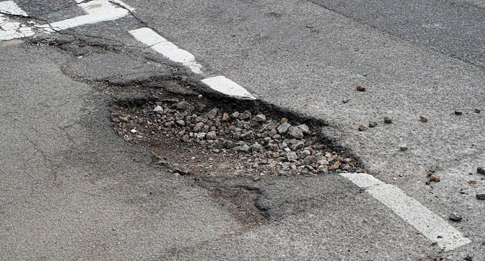 A massive pothole has helped correct a man's dangerously fast heartbeat while he was being transported by ambulance to hospital. Source: Getty, file