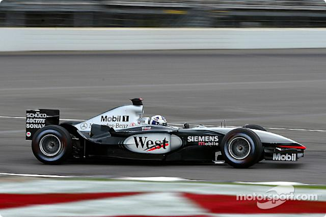 "2002-2003: McLaren-Mercedes MP4-17D <span class=""copyright"">Michael Kim</span>"