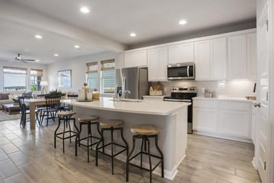The Mason model kitchen | The Enclave at Sonterra in Jarrell, TX | Century Communities