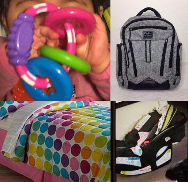 PHOTO: Ansonia police released these images of items to aid in the search for missing child, Vanessa Morales. (Ansonia Police Department)
