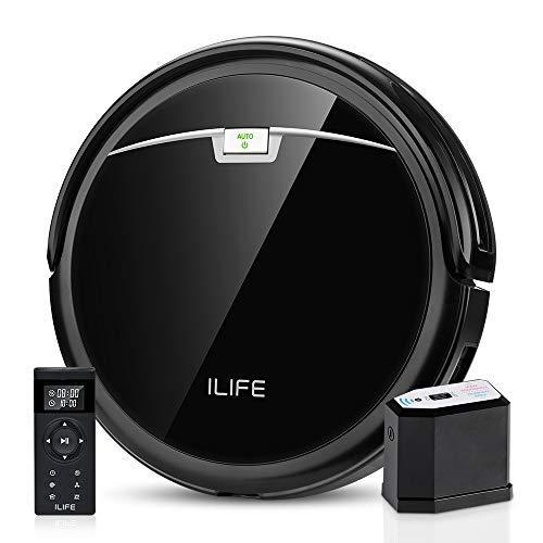 ILIFE A4s Pro Robot Vacuum, 2000Pa Max Suction, ElectroWall, Remote Control, Slim, Thin, Quiet,…