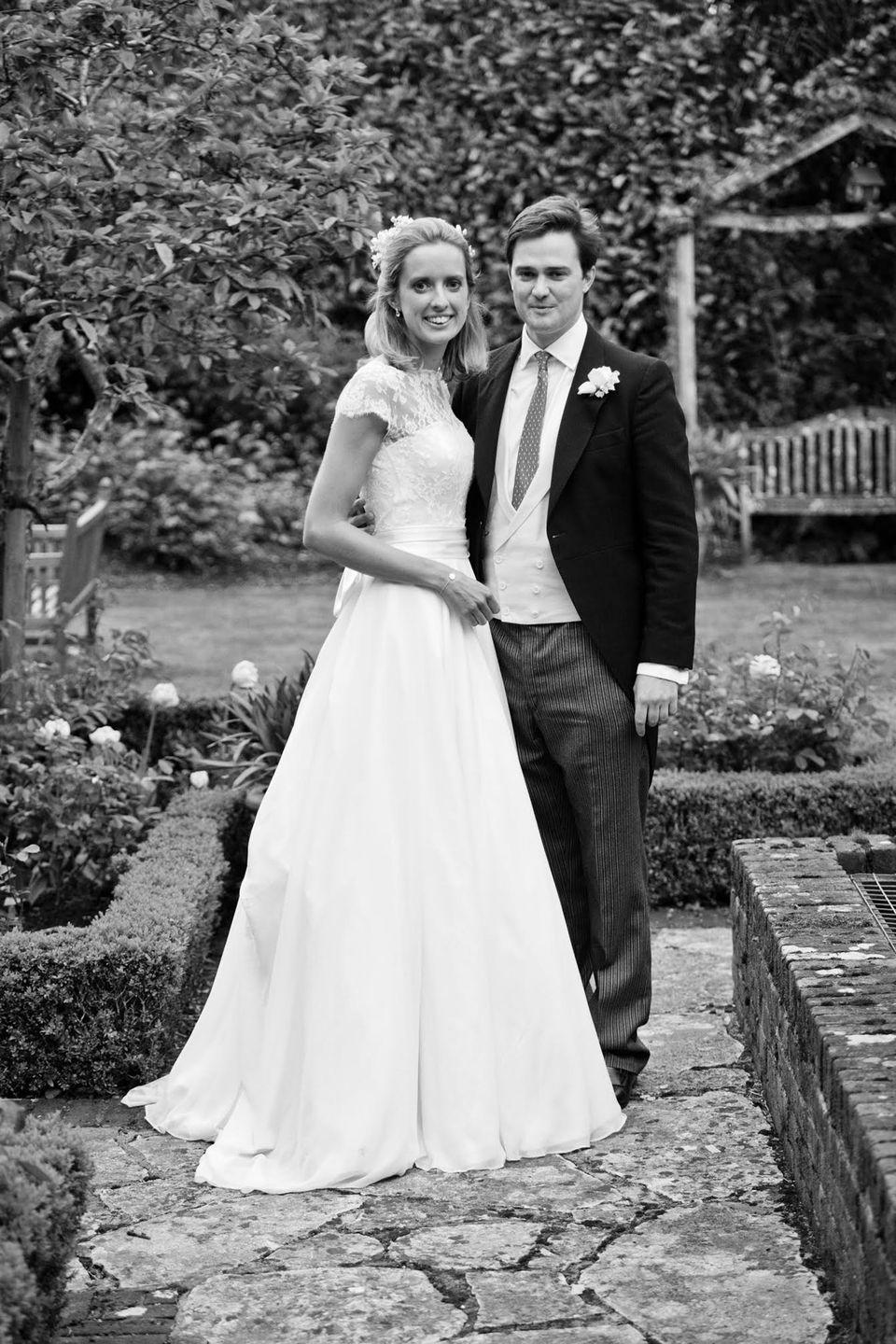 <p><strong>Wedding dress:</strong> Emma Victoria Payne</p><p><strong>Jewellery:</strong> Davina Combe</p>