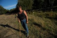 Livestock farmer Ana Vega remembers a time when locals took matters into their own hands if a wolf killed a sheep (AFP/PIERRE-PHILIPPE MARCOU)
