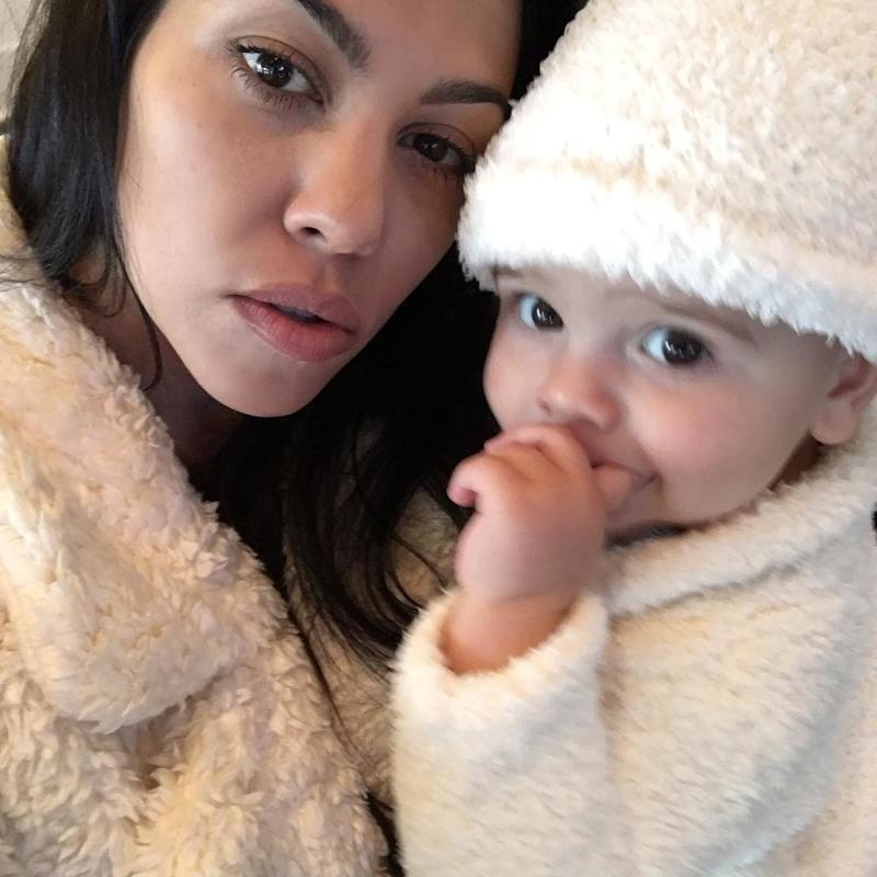 The family member with perhaps the most significant presence that year was baby Reign Disick, who spent at least part of his first Thanksgiving in the arms of his mom, Kourtney.