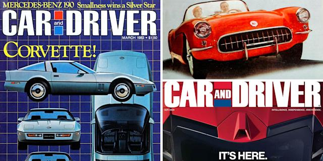Car And Driver >> The 89 Issues Of Car And Driver With A Corvette On The Cover