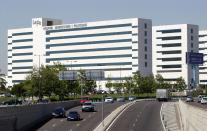 A view of the University and Polytechnic Hospital La Fe is seen in Valencia April 25, 2012. The complex's cost escalated up to 300 million euros. (REUTERS/Heino Kalis)