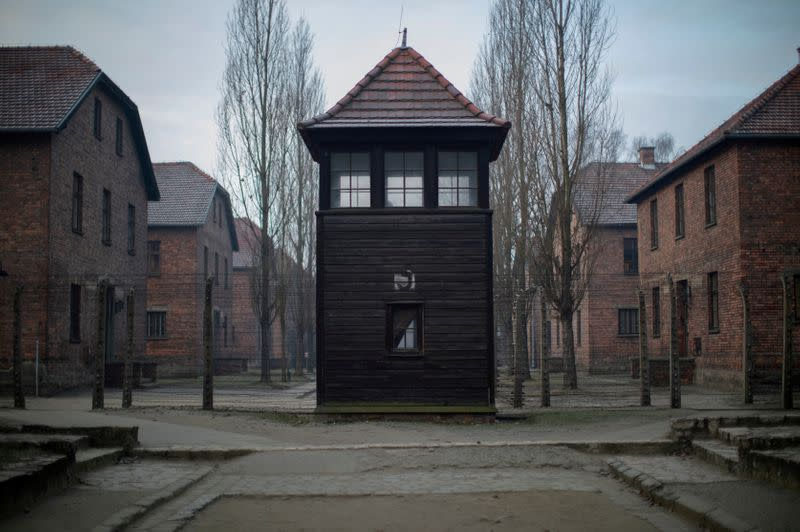 FILE PHOTO: 75th anniversary of the liberation of the Nazi German concentration and extermination camp Auschwitz and International Holocaust Victims Remembrance Day