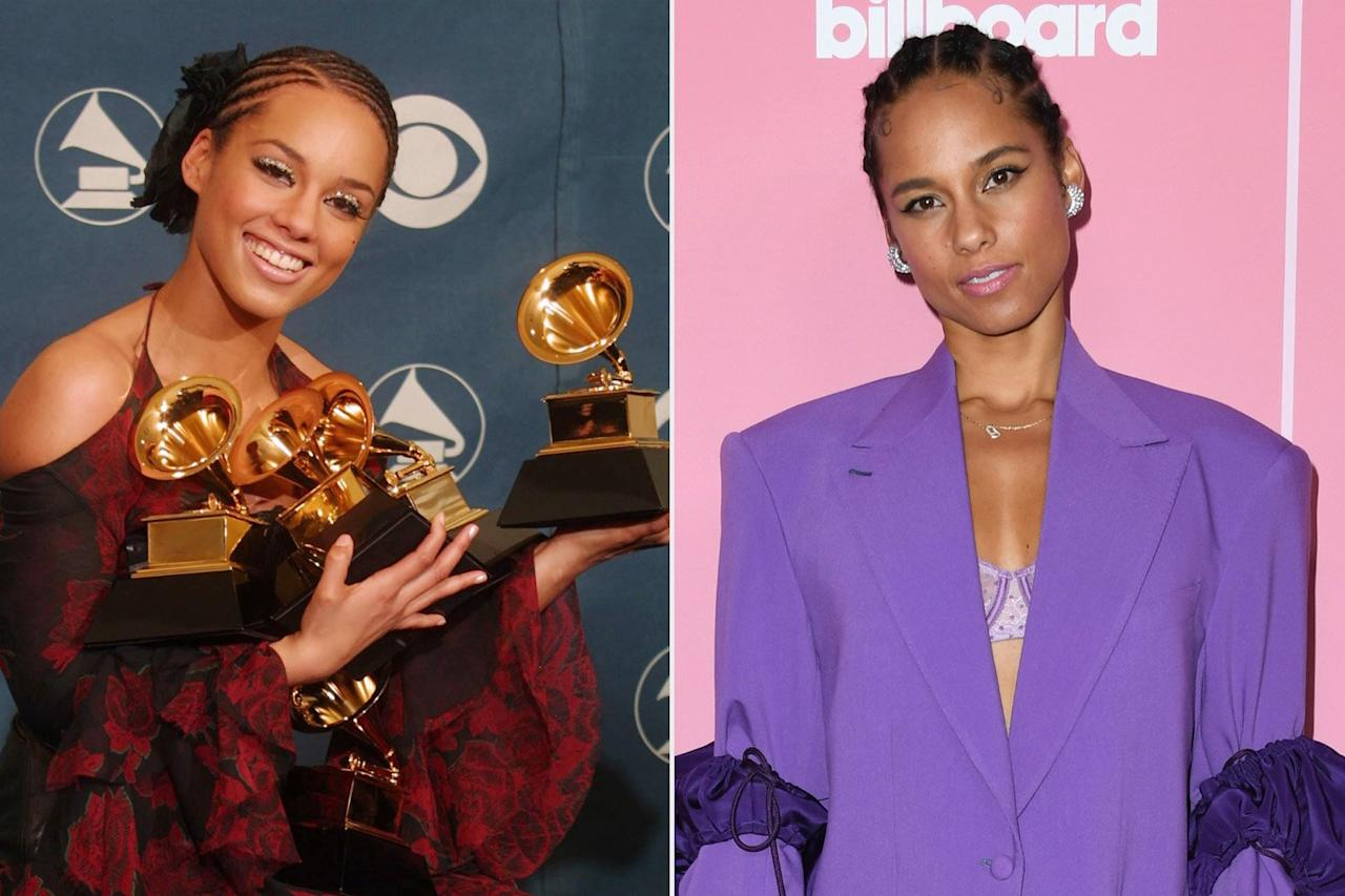 """<b>Who did she beat?</b>  India Arie, Nelly Furtado, David Gray, and Linkin Park  <b>What's she up to now?</b>  One of the most successful Best New Artist winners there's ever been, <a href=""""https://ew.com/tag/alicia-keys/"""">Alicia Keys</a> won five out of six of the Grammys she was nominated for in 2002, and has since won 10 more. Another former judge of <i>The Voice</i>, Keys is set to release a new album in 2020.  Related: <a href=""""https://ew.com/article/2012/11/16/alicia-keys-stories-behind-songs/"""">Alicia Keys: The stories behind the songs</a>"""