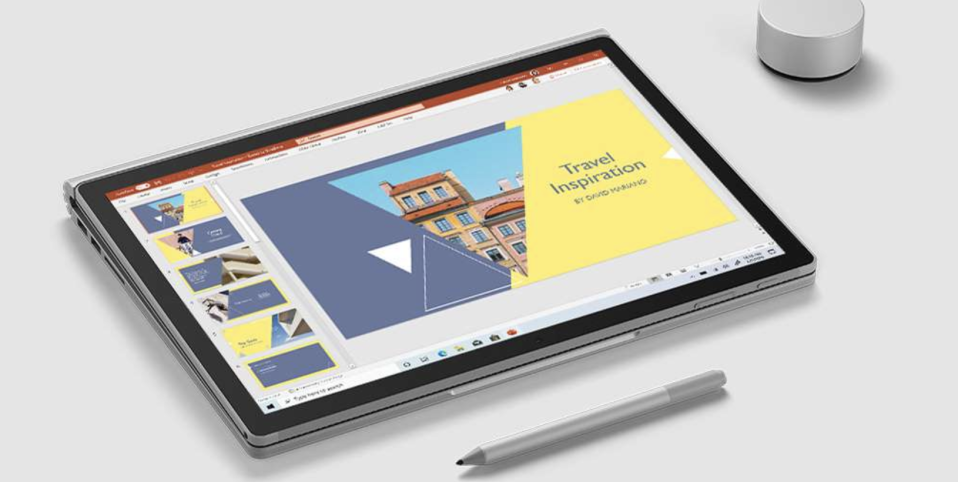 Microsoft Surface Book 3. PHOTO: Microsoft