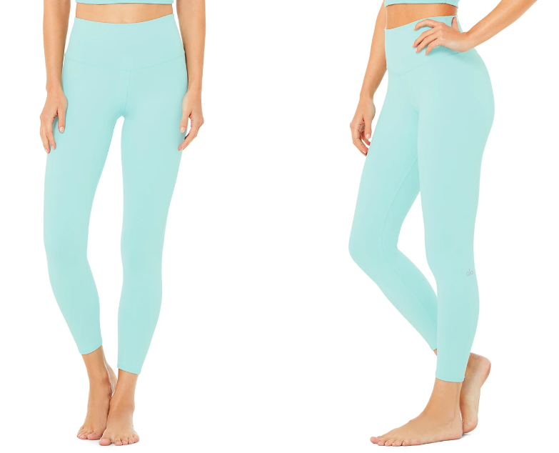 Alo Yoga 7/8 High-Waist Airbrush Legging (Photo via Alo Yoga)