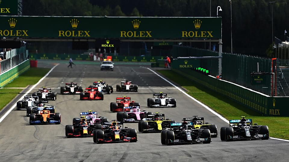 The motorsport world is mourning Nathalie Maillet, the CEO of the Spa Franchorchamps racing circuit in Belgium which hosts Formula One. (Photo by Clive Mason - Formula 1/Formula 1 via Getty Images)